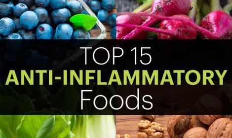 Top 15 Anti-Inflammatory Foods