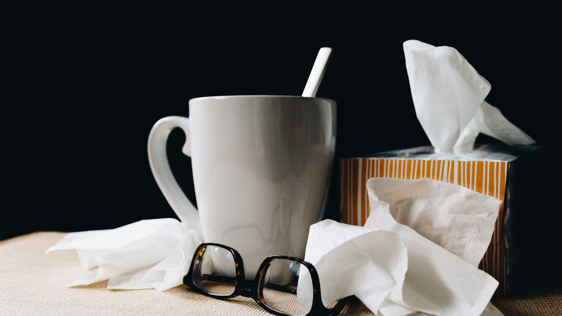 Sick day accessories (image credit: Unsplash.com)