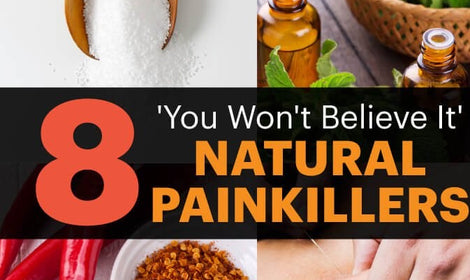 8 Amazing Natural Painkillers