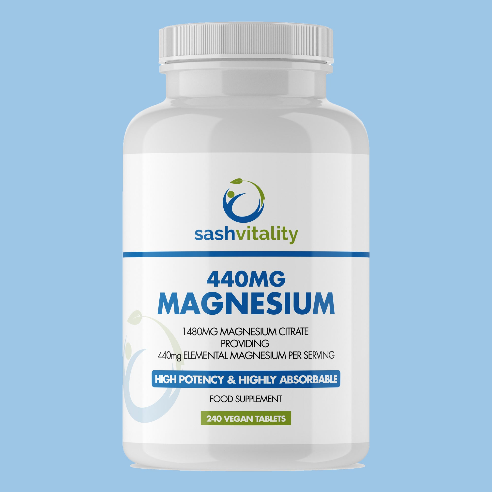 Magnesium Tablets - 1480mg