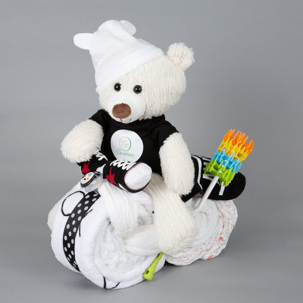 Pepper - Large nappy cake bike
