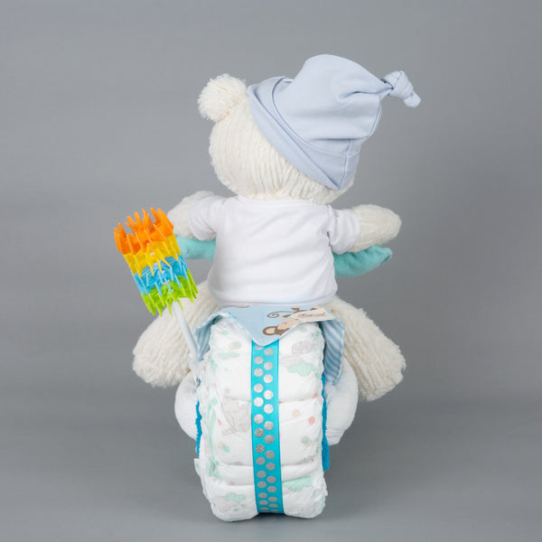 Bailey - Large nappy cake bike
