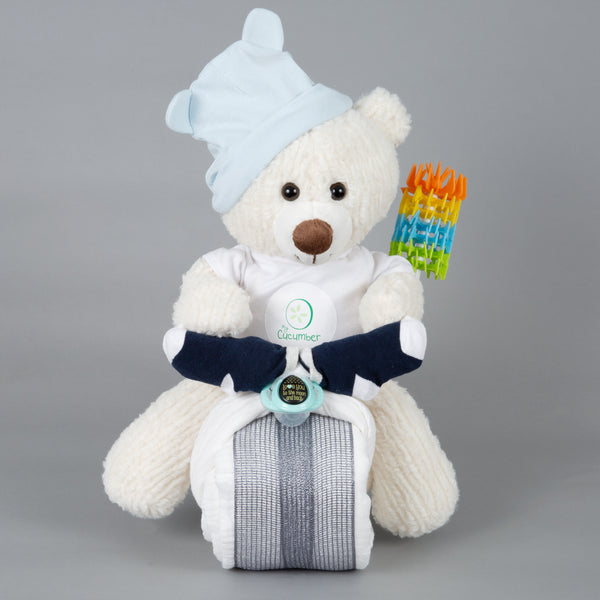 Dazzle - Summer nappy cake bike
