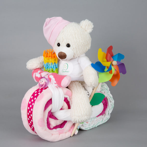 Willow - Large nappy cake bike