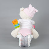 Razzle - Summer nappy cake bike