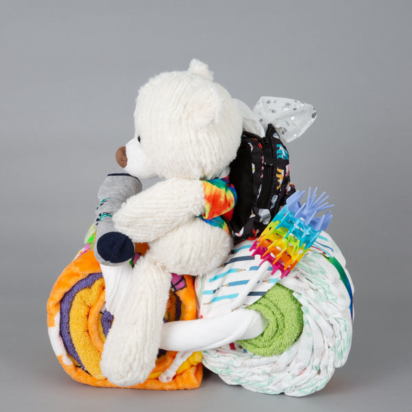 Jazz - Large nappy cake bike