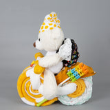 Honey - Large nappy cake bike