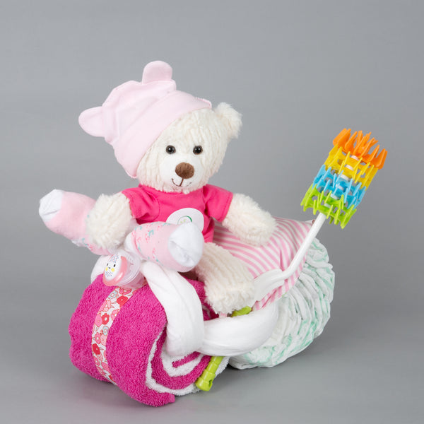 Loulou - Small nappy cake bike
