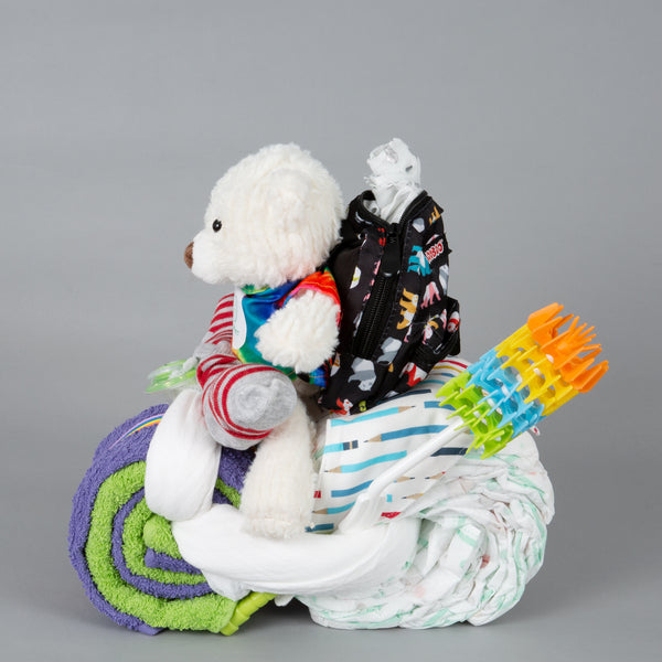 Coco - Small nappy cake bike