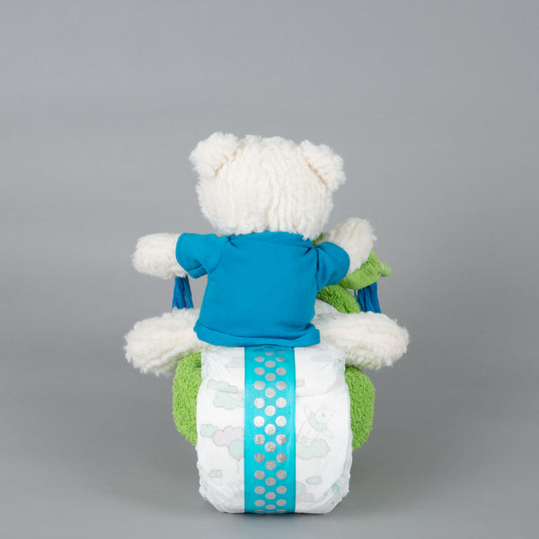 Oli - Mini nappy cake bike