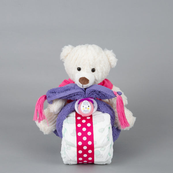 Rosie - Mini nappy cake bike