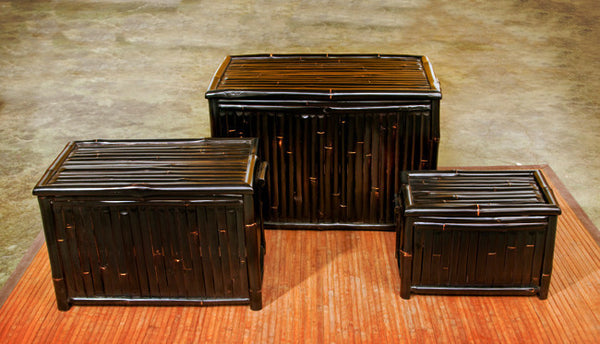 Sabai Bamboo Storage Trunks