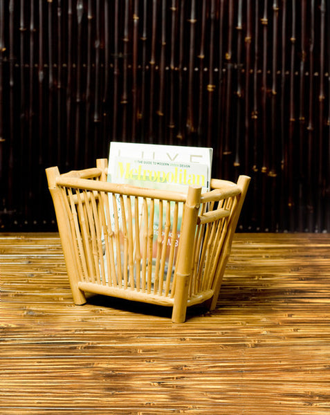 Sabai Bamboo Magazine Holder & Storage Basket