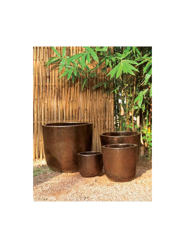 Bronze Tapered Planter