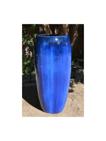 Cobalt Tall Vase Planter