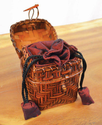 Mai Mini Drawstring Basket