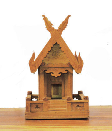 Thai Wooden Spirit House