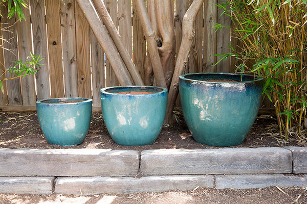 Round Tapered Aqua Planter