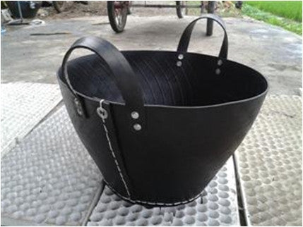Carbon / Black Garden Tote with Trim