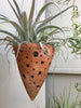 Cone Artisan Planters Large: 10 pcs/unit. Unit price: $60.00