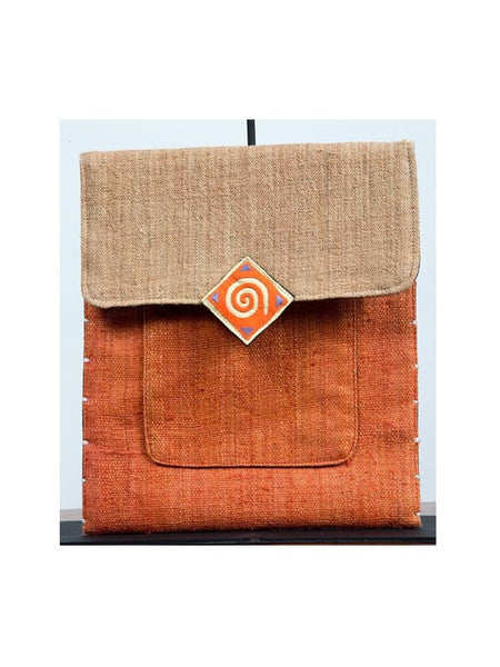 Ochre & Coffee Vertical Tablet Case