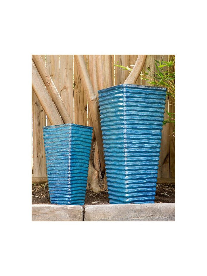 Ripple Tapered Aqua Planter