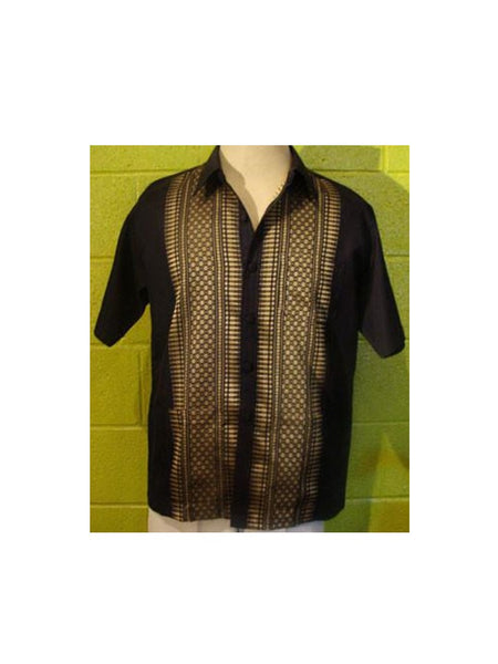Thai-Yabera Shirt - Black