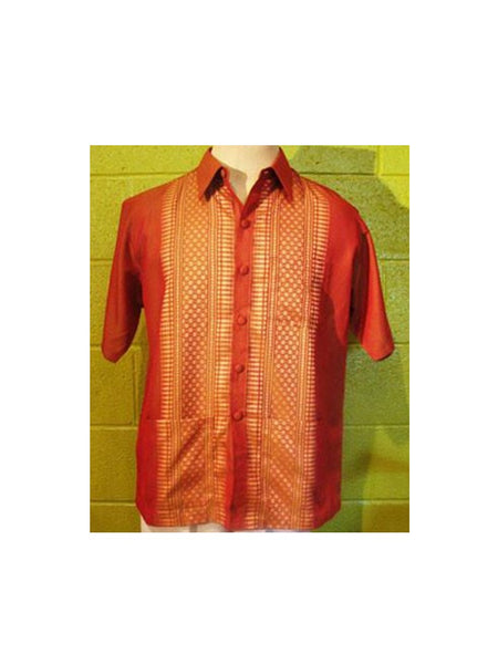 Thai-Yabera Shirt - Orange