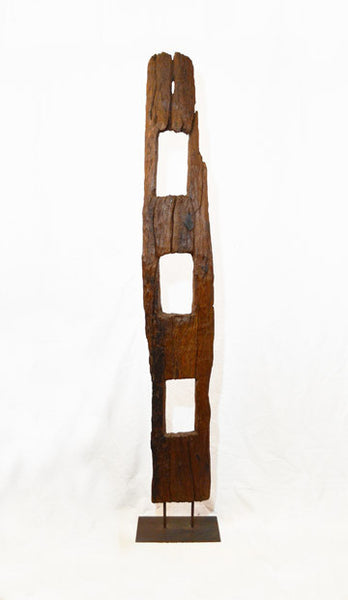Antique Teak Fence Posts