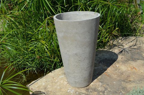 Cement Round Tapered Planter