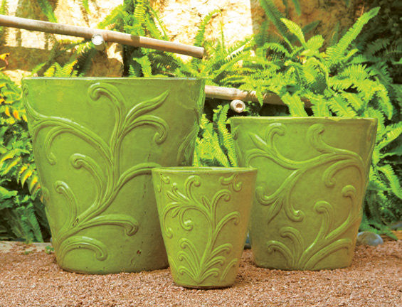 Green Vine Planter
