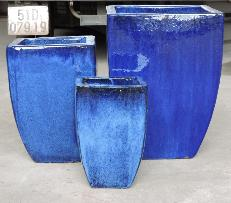 Milan Blue Planter