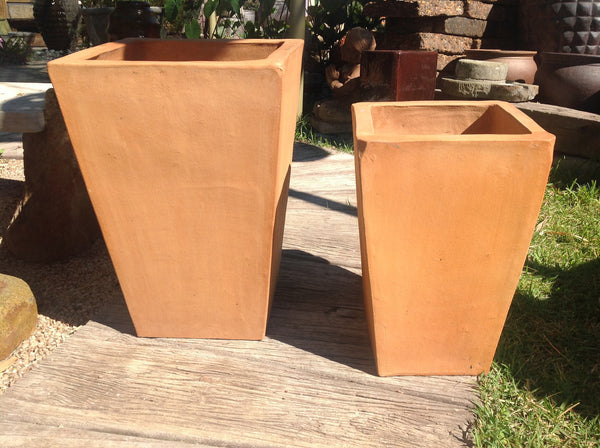 Square Tapered Pot