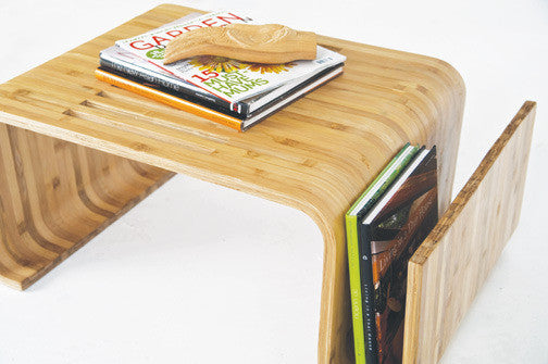 Loi Wave Bamboo Coffee Table