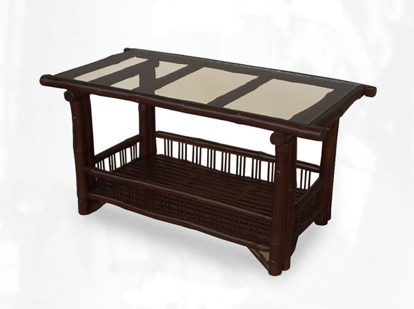 Sabai Bamboo Pagoda Coffee Table