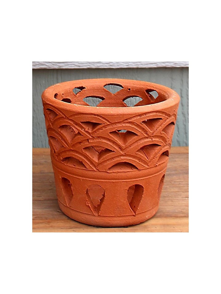 Pisces Tall Tapered Artisan Planter: 10 pcs/unit. Unit price: $125.00