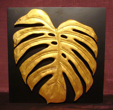 Tropical Leaf Sculpture