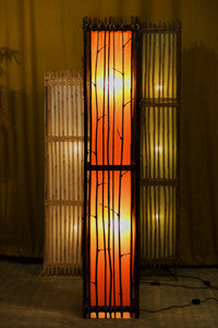 Noi Bamboo Twig Floor Lamp