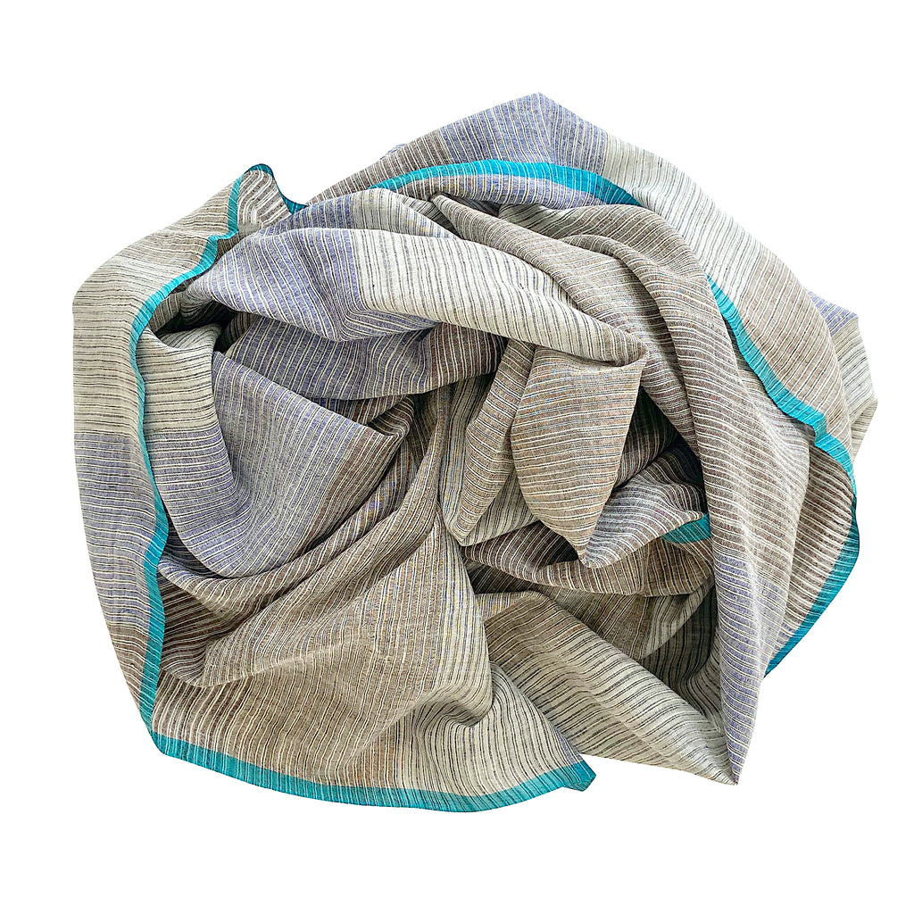 1517 cotton silk scarf