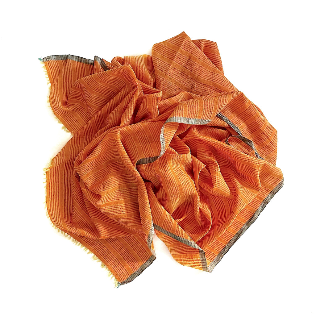 1518 cotton silk scarf
