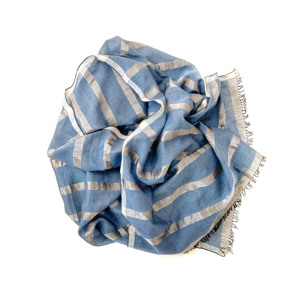 1818 Cotton Silk Scarf