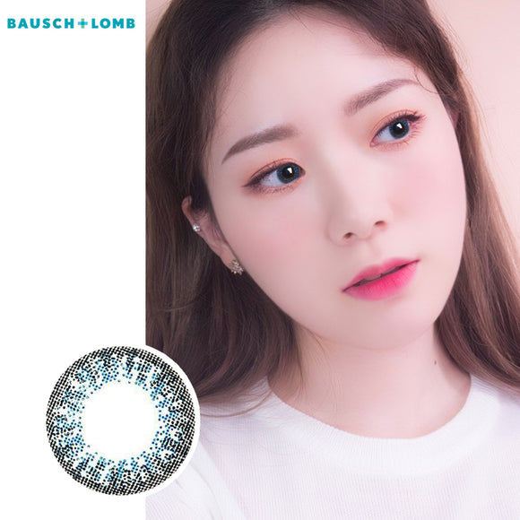 Bausch & Lomb Lacelle disposable daily color contact lenses Blue