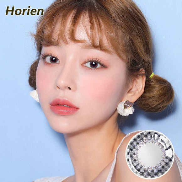 Horien Beloved eyes disposable quarterly color contact lenses Dream Purple