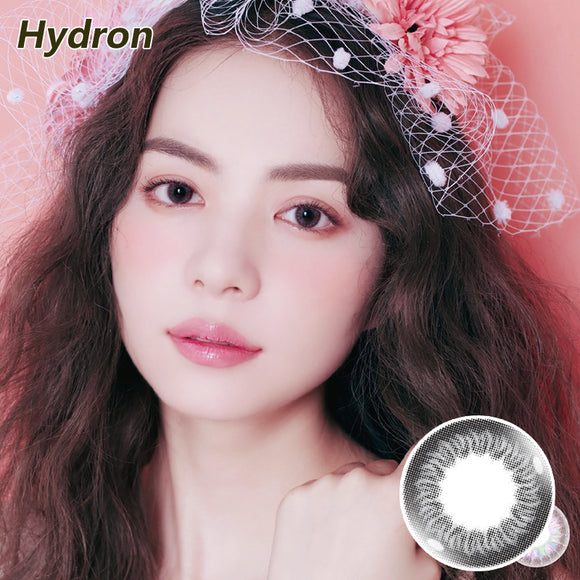 Hydron Happy Go mixed blood disposable daily color contact lenses Silver Lime
