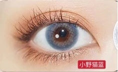 MiaoMou yearly Contact Lenses little wild cat blue(2pcs/box)
