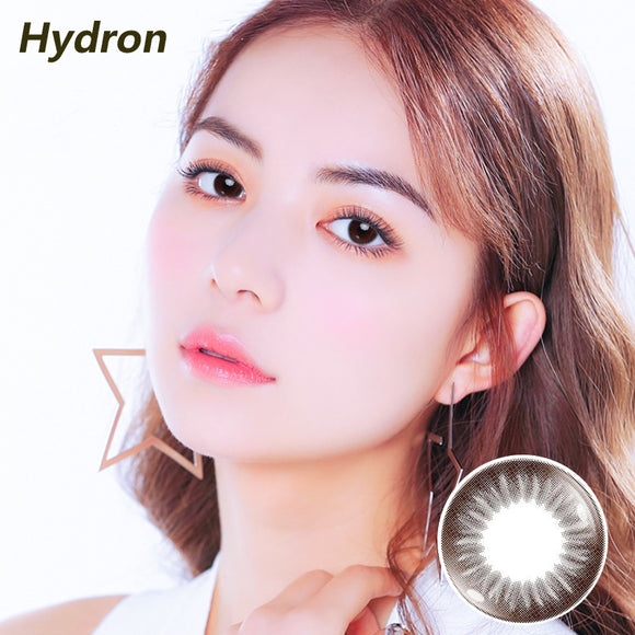 Hydron Happy Go mixed blood disposable daily color contact lenses Dazzling Brown