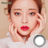 Horien Pandora one piece mixed blood size diameter disposable half yearly color contact lense  Cool Grey