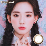 Freshlook Illuminate small diameter 13.8mm disposable daily color contact lenses Brown