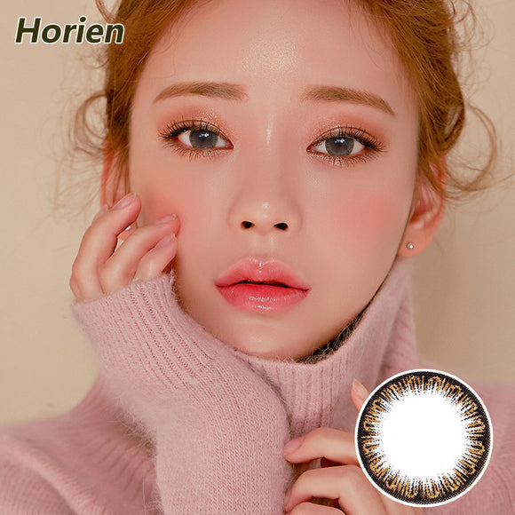 Horien Pandora one piece mixed blood size diameter disposable half yearly color contact lense  Charm Brown