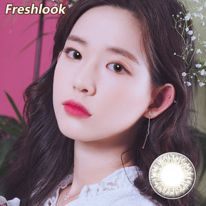 Freshlook Illuminate small diameter 13.8mm disposable daily color contact lenses  Grey